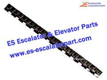 Escalator Parts 1705752801 Black Step Demarcation