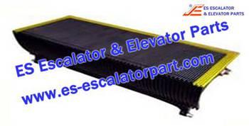 Thyssenkrupp Escalator Parts 1705730800 Aluminum step
