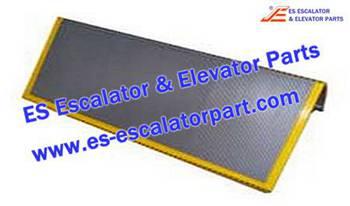 Thyssenkrupp Escalator Parts 1705730600 Aluminum step