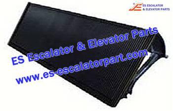 Thyssenkrupp Escalator Parts 1705730000 Aluminum step