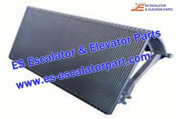 Thyssenkrupp Escalator Parts 1705729900 Aluminum step