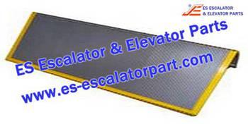 Escalator Parts 1705728900 Aluminum step