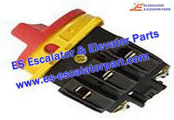 Thyssenkrupp Escalator Parts 8609000089 MAIN SWITCH