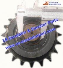 Escalator Parts Sprocket