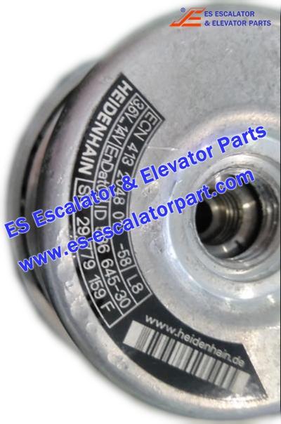 Thyssenkrupp Elevator Parts ECN413204801-58L8 Encoder