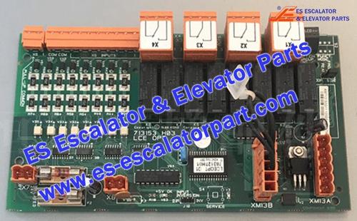 KONE Elevator Parts 713153H03 PCB