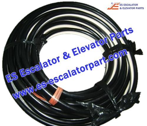 Escalator Parts GAA402BMC2 Handrail
