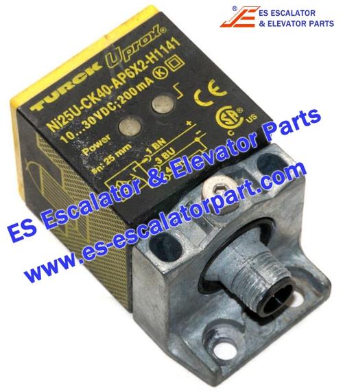 Thyssenkrupp Escalator Parts Ni25U-CK40-AP6X2-H1141 PROXIMITY SENSOR