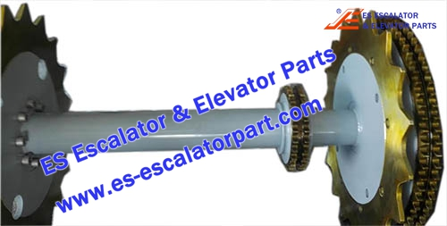 ESThyssenkrupp Escalator Parts 1780383300 Main drive Axle