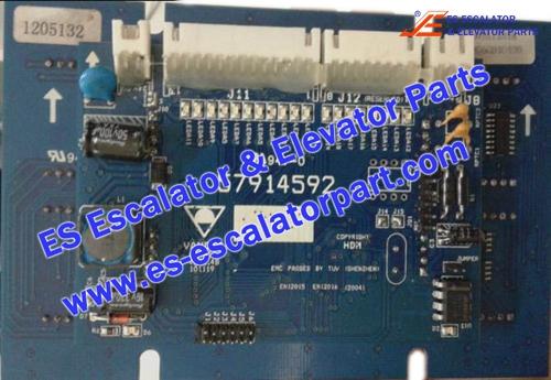 Schindler Elevator Parts 57914592 Display panel