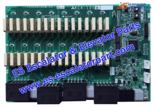 Mitsubishi Elevator Parts KCA-1050D PCB