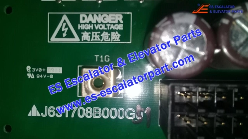 Mitsubishi Elevator Parts J631708B000G51 PCB