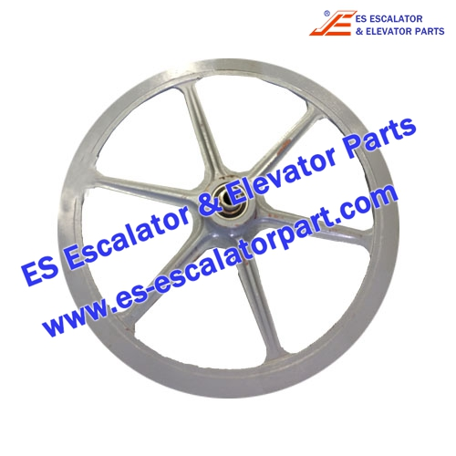 Thyssenkrupp Escalator Parts 1709050900 Handrail drive wheel