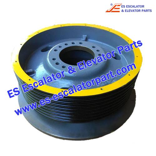 Schindler Elevator Parts 128468 TRACTION PULLEY
