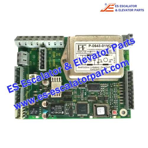 Schindler Escalator Parts ID.NR.591898 PCB LONIBV