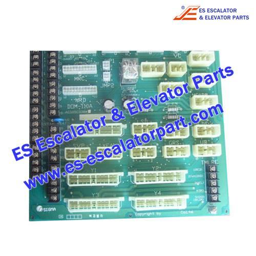 LG/SIGMA Elevator Parts DOM 110A AEG05C338 Controller Connectors board
