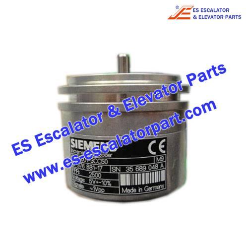 Siemens Elevator Parts 6FX2001-3CC50 Encoder