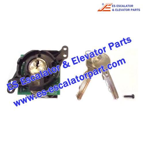 KONE Elevator Parts KM804250G10 KEY SWITCH