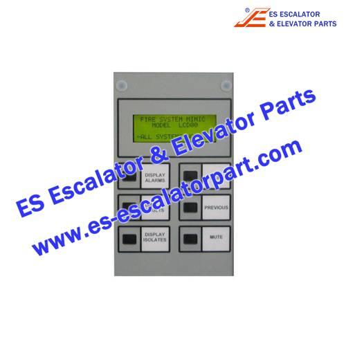 Thyssenkrupp Escalator Parts LCD80 Annunciator