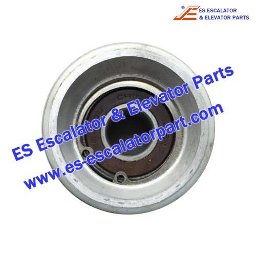 Escalator Parts 0348CAP001 Handrail guide roller