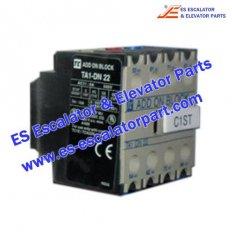 Escalator Parts TA1-DN22 Auxilary contact