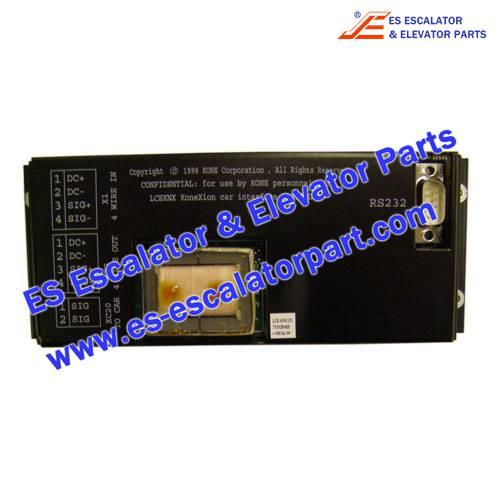 Kone elevator KM713130G01 Decoder board