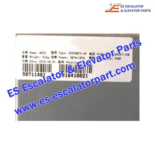 Elevator 59711481 AESD 2.0 3+1 kVA 80A