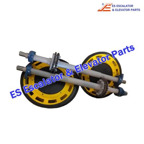 Escalator KM5275110G01 handrail wheel assembly