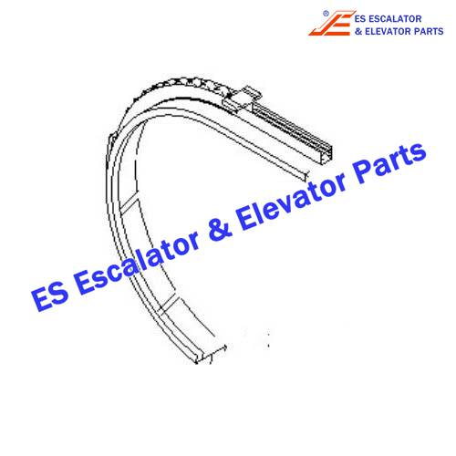 Escalator DEE4041194 Bowed Section