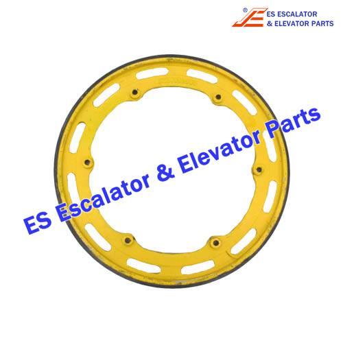 KONE Escalator KM5281443G01 wheel with rubber layer