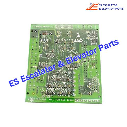 Escalator VMS1-B PCB