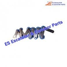 Escalator STN0014-000 Set x 18 Step chain