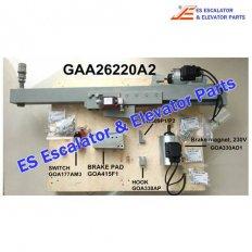 Escalator GAA26220A2 Auxiliary brake