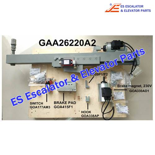 Escalator GAA26220A2 Auxiliary brake
