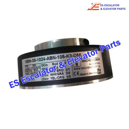 Escalator 100H-38-1024-ABN-I05-K3-D56 Encoder