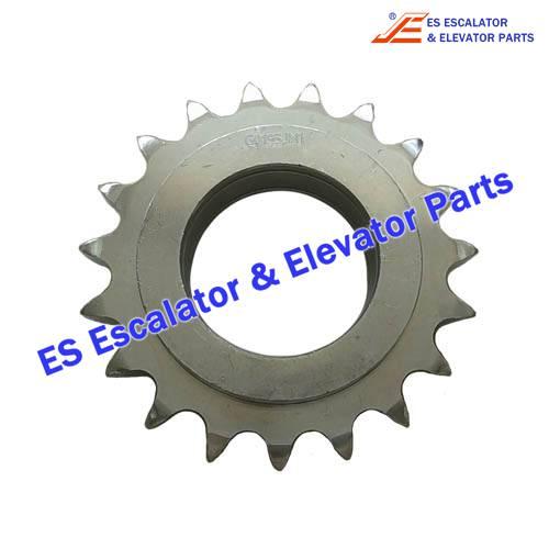 Escalator GO2215AB55 510 Sprocket