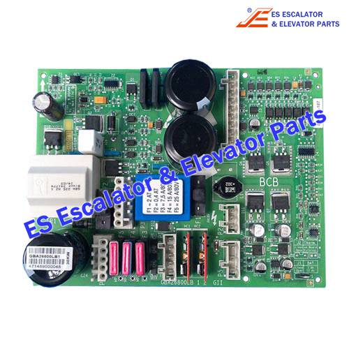 OTIS GBA26800LB10 PCB BATTERY CONTROL BOARD