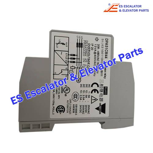 Thyssenkrupp Escalator Parts 8800300158 Phase sequence relay