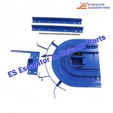 <b>Escalator GAA26160B1 U-shaped roller guide</b>