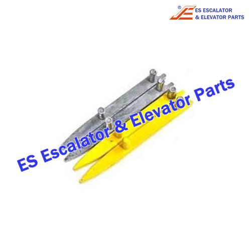 schindler escalator SMR898743 comb finger end