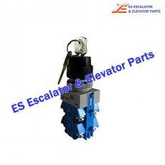 <b>Escalator Parts DAA177NPJ1 Switch with key 3 position</b>