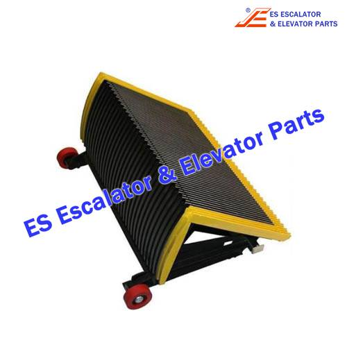 Escalator 50626486 Step CPL Black 1000 with yellow frame