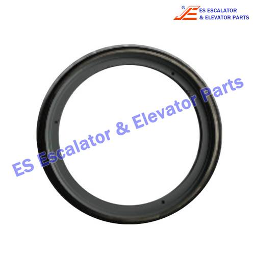 Escalator Handrail Friction Wheel Ring 1709115500 688*34mm