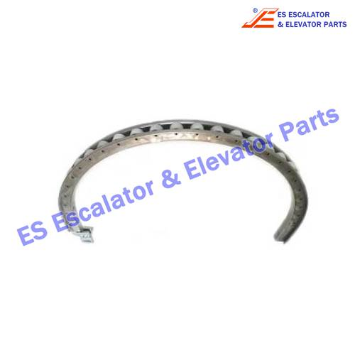 Escalator 17370021 handrail return guide