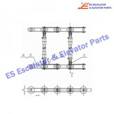 C65000071 135KN Chain with axle