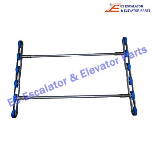 Escalator step chain XAA26150X19 2 fold unit