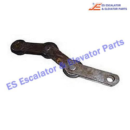 Escalator Parts 1705777500 Singular Step Chain