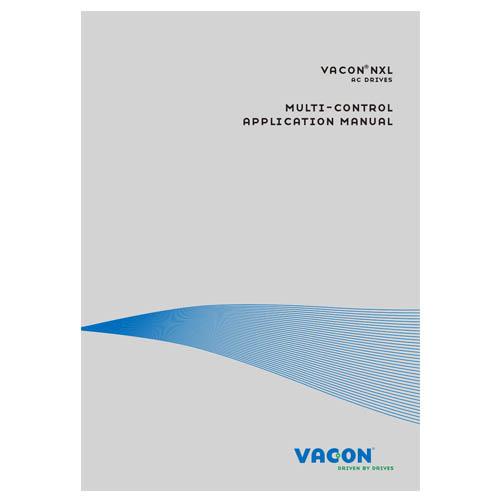 Vacon NXL Multi Control Application Manual DPD0144