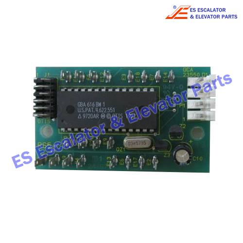 PCB GCA23550D10/COD REMOTE STATION PANEL RS5