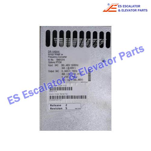 Escalator Parts DR-VAB44 Frequency Converter